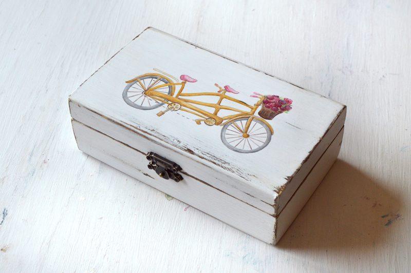 Cutie verighete pictata manual-Enjoy the ride