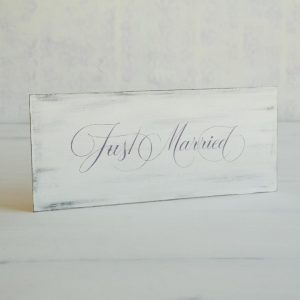 "Tablita "" Just Married """