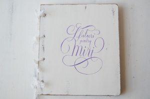 """Guestbook personalizat """"Sfaturi pentru miri"""""""