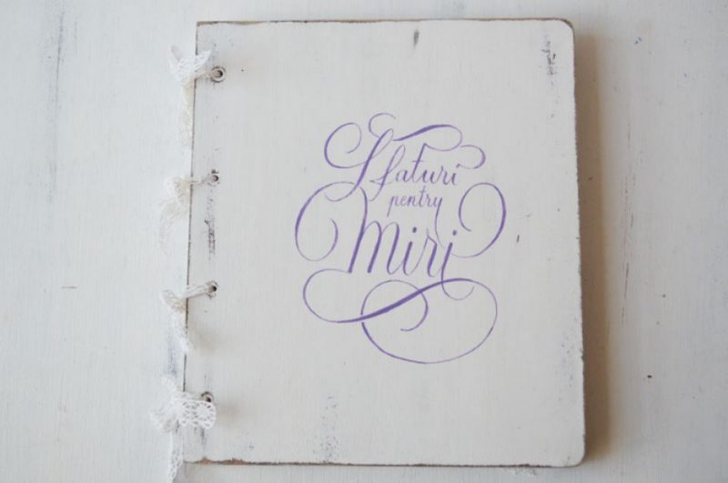 Guestbook personalizat- Advice for the couple