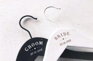 Set umerase pictate manual-Groom&Bride