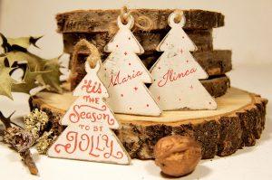Ornament de brad personalizat - Be jolly