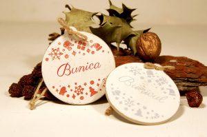 Set doua ornamente personalizate - Bunica si Bunicul 2