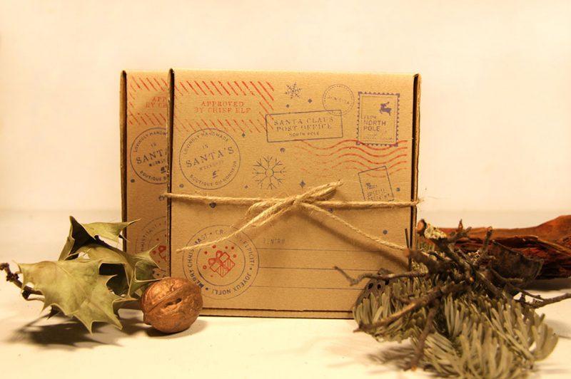 cutie pentru cadou realizata din lemn