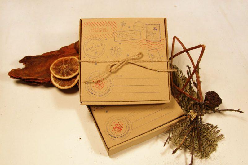 cutie pentru cadou realizata din lemn 2