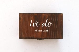 Cutie verighete - We do