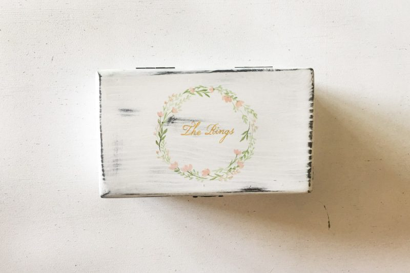 Cutie de verighete -The rings