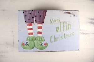 Cutie pictata manual-Merry Elfin Christmas