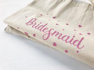 Plasuta bumbac pictata manual - Bridesmaid