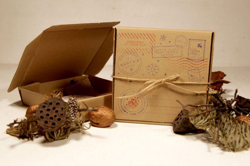 cutie de cadou facuta manual din lemn de brad 7