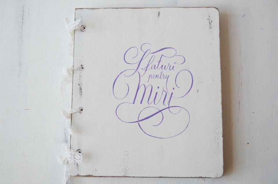 guestbook personalizat pentru miri